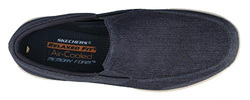 Skechers Men's Harper Brawley Slip-on Loafer Dark Navy hot sale enjoy cheap online cheap sale online RKHx51bAhO
