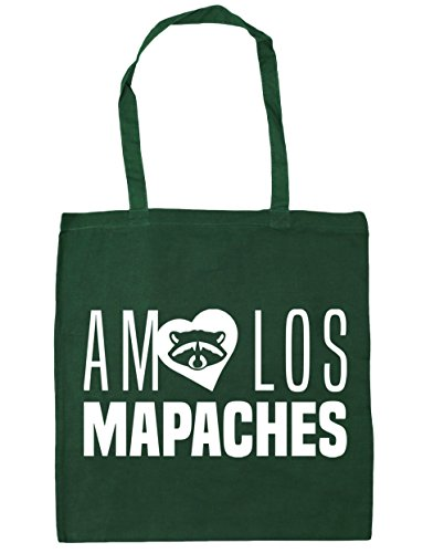 38cm 42cm Verde De Amo Gimnasio Botella Litros Bolso Capacidad Bolsa Playa Mapaches Hippowarehouse Asas Para Los Compra Con X 10 B6UdInn7