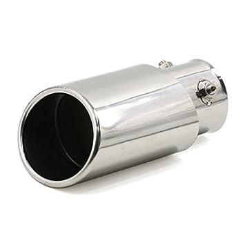 Amazon.com: eDealMax Universal se adapta a ovales del Consejo del silenciador del Extractor de la cola tubo de Cuello 62mm: Automotive
