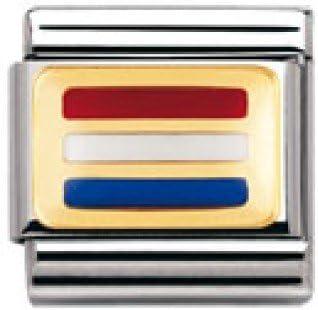 acciaio inossidabile Nomination 030234 Link unisex