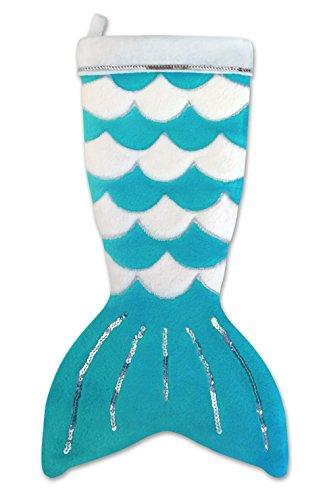 Fin Fun Mermaid Tail Christmas Stocking - -