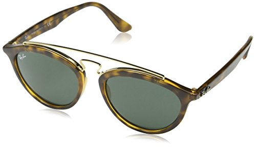 Ray-Ban INJECTED WOMAN SUNGLASS - HAVANA Frame DARK GREEN Lenses 50mm - Ladies Sunglasses Rayban