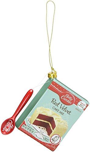 Department 56 General Mills Betty Crocker Cake Mix Hanging Ornament ()