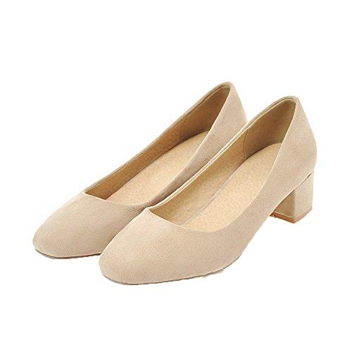 Tirare Beige Tacco Donna FBUIDD006775 Ballet Basso AllhqFashion Solid Flats pvIqww8