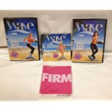 The Wave 3 DVD's and Pink Resistance Band Express Abs Rock Solid Buns And Abs