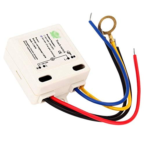 VHLL New Professional Touch Switch For Table Incandescent Lamp XD-609 4 Mode On/Off Touch Switch Sensor For 220V Incandescent Lamp HR NEW
