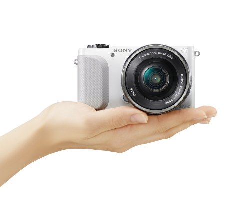 Sony NEX-3NL/W Mirrorless Digital Camera Kit (White)