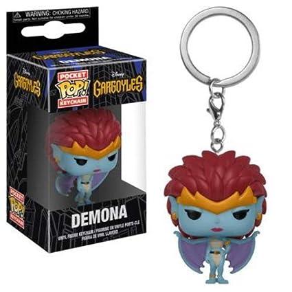Funko Pop! Keychain: Gargoyles - Demona Collectible Figure, Multicolor