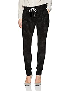 Monrow Womens Smocked Waist Sweats