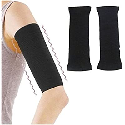 12 Pairs X Yonger Arm Sleeves Compression Slimming Arm Massage Fat Burning Thin Arm Warmers Supports
