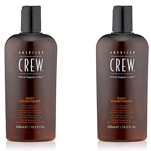 - American Crew Daily Conditioner for Men, 15.2-Ounce Bottles (Pack of 2)