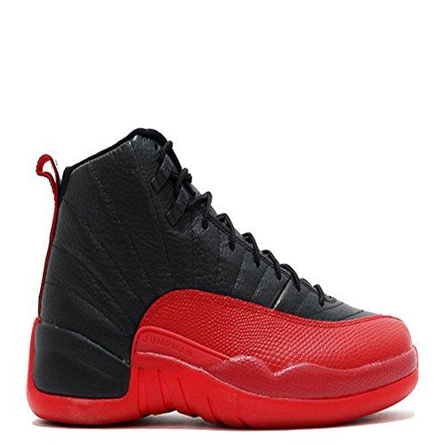 new arrival 2cc5e 521e1 air jordan 12 retro black varsity red basketball shoes chic
