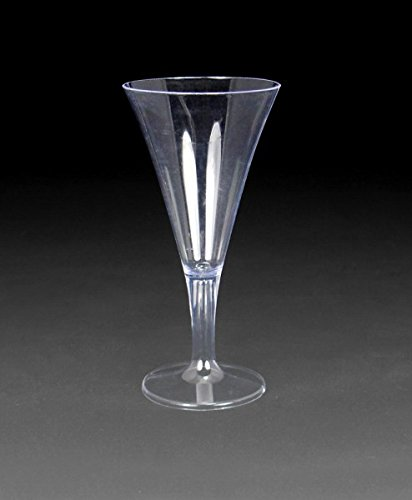 - Royal Plasticware, PW2810, 3 oz Cordial Glass, One Piece, Clear