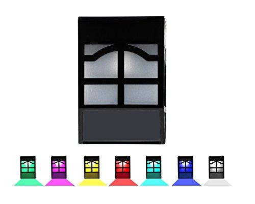 Cheap Suneng Power Garden Fence Solar Lights,Fairy 7 Colors Change Waterproof Decorative Wall Outdoor Yard,Light Sensing Auto on/off Warm White Led