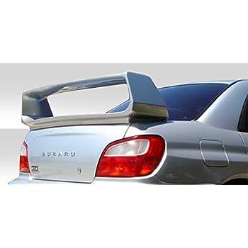 Duraflex 4DR S-Sport Rear Bumper Cover 1 Piece for Impreza Subaru 93-01 ed/_