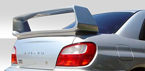 Duraflex Replacement for 2002-2007 Subaru Impreza WRX STI 4DR STI Look Wing Trunk Lid Spoiler - 1 Piece