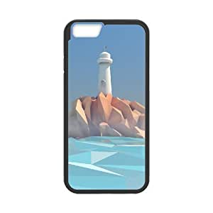 "Customized Durable Case for Iphone6 4.7"", Lighthouse Phone Case - HL-R649548"