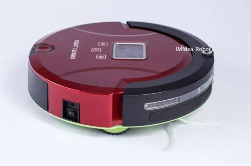 5 In 1 Multifunctional Robot Vacuum Cleaner,LCD,Touch Button,Schedule, Self Charging