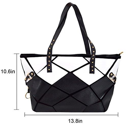 Envelope 02 Bag Fashion Womens Purse Laser Holographic Meliya Handbag Shoulder Clutch Leather xAOPq0Ufw