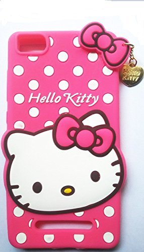 check out 5b479 80318 Angel Store Cover For Xiaomi Redmi MI4A Cute Hello Kitty Back Cover Pink MI  4A