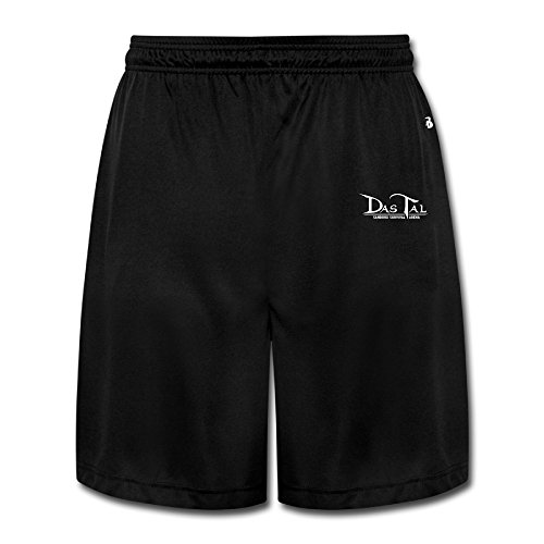 CEDAEI Das Tal Classic Mens Training Shorts Sport Sweatpants Black Half - Ray Sale Ban Summer