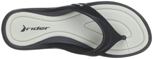Rider Island Iv, Women's Flip Flop Sandals Schwarz (Black/Grey 22534)