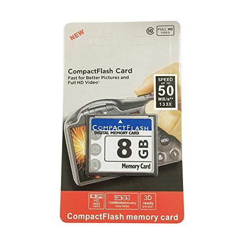 Bodawei Original 8GB CompactFlash Memory Card High Speed 133x (TS8GCF133) Industrial Compact Flash Card for Canon Camera CARDs by Bodawei
