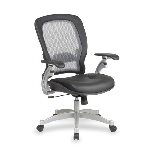 space-air-grid-back-executive-leather-chair-with-adjustable-headrest-and-platinum-finish-metal-base