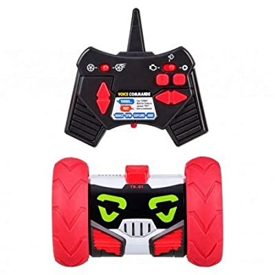 Really RAD Robots - Electronic Remote Control Robot with Voice Command - Built for Speed and Tricks - Turbo Bot: Home Audio & Theater