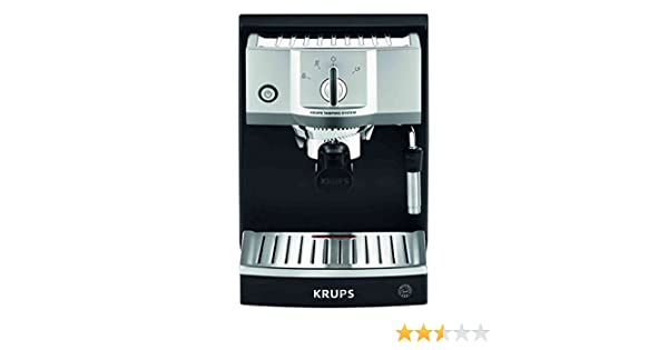 Krups XP562030 - Cafetera (Independiente, Espresso machine, Acero inoxidable, Acero inoxidable, Café, Café expreso)
