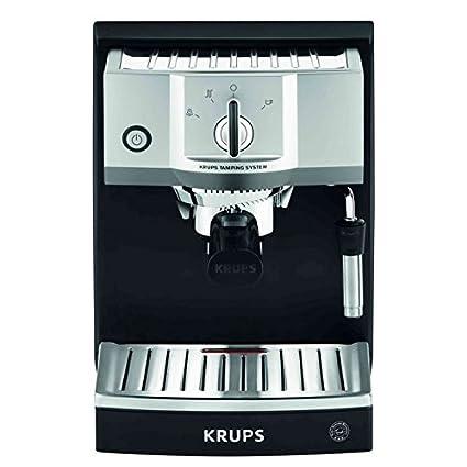Krups XP562030 - Cafetera (Independiente, Espresso machine, Acero inoxidable, Acero inoxidable,