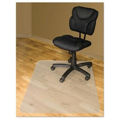 - Advantus - Chair Mats For Hard Floors 60 X 46 Slightly Tinted