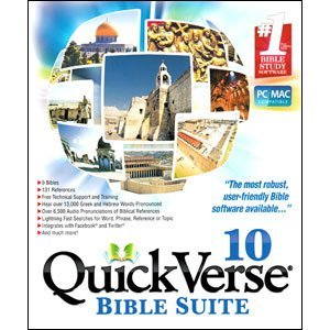 QuickVerse Bible Suite 10 Reference