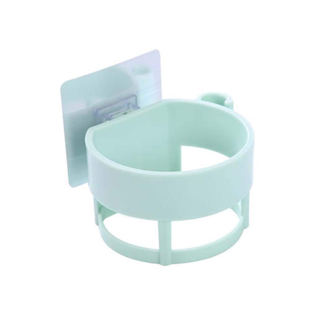 TNGCHI Plastic Hair Dryer Storage Rack Powerful Wall-Mounted Hair Dryer Storage Holder Home Hotel Bathroom 2PCS
