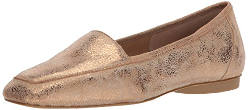 Donald J Pliner Women's Deedee Loafer Flat, Bronze, 8.5 Medium US