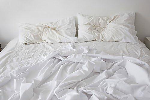 Muy duradero sábana bajera y funda de almohada de gran valor 100 ...