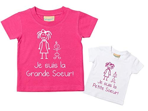 Makeover Sister camisetas Pink French Pink Purple Second Little de Limited o Soy conjunto 60 Big el 05ORqwOv