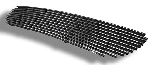 (ShopDone Fits 99-03 Ford F-150 Lightning Replacement Lower Bumper 1PC Horizontal Billet Polished Aluminum Grille Grill)