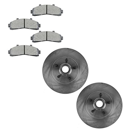 Front Metallic Brake Pad Rotor Kit for Ranger Mazda Pickup Truck 2WD