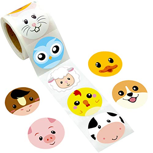 Which is the best farm animal stickers for toddlers?
