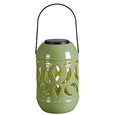 Kenroy Home 60526GRN Lydia Solar Lantern
