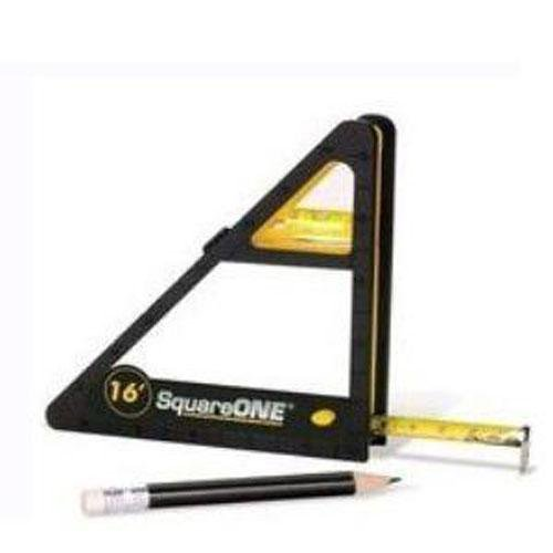 Square One Tape Measure Level Tool Pencil 6 Tools In-1, Outdoor Stuffs