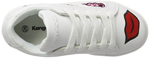 Jr Kiss Enfant Mixte Baskets Wei White Wei KangaROOS K xXqEv5wfT