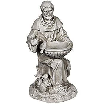 Amazon Com Exhart St Francis Of Assisi Garden Statue