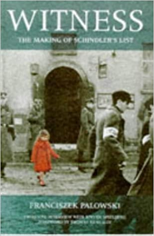 Book Witness - The Making Of Schindler's List by Franciszek Palowski (1999-02-18)