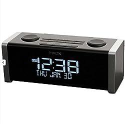 HMDX Audio HX-B440 Cube Bluetooth Alarm Clock