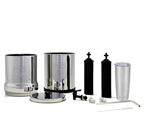 Big-Berkey-Water-Filter-System-with-2-Black-Purifier-Filters-2-Gallons-Bundled-with-1-Boroux-Double-Walled-20-oz-Stainless-Steel-Tumbler-Cup