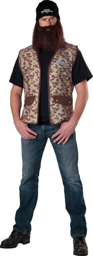 InCharacter Duck Dynasty Men's Jase Costume, Camouflage, One Size by Fun World