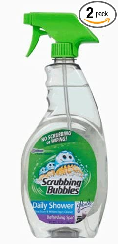 scrubbing bubbles daily shower cleaner trigger 32 ounce pack of 2