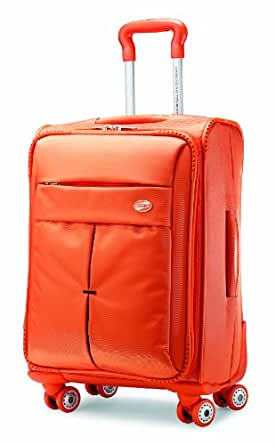 American Tourister Luggage Colora 20-Inch Spinner Bag, Orange, 20-Inch